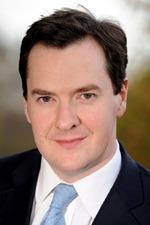 The Chancellor George Osborne.