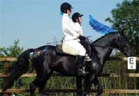 Tandem riding can help develop a child's confidence.