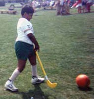 Taking part in sport was always important to Gobi as a child.